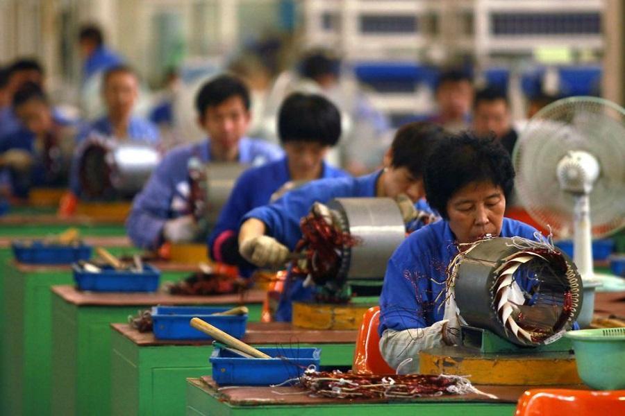 کارگران چینی، کم تحرک و سالمند