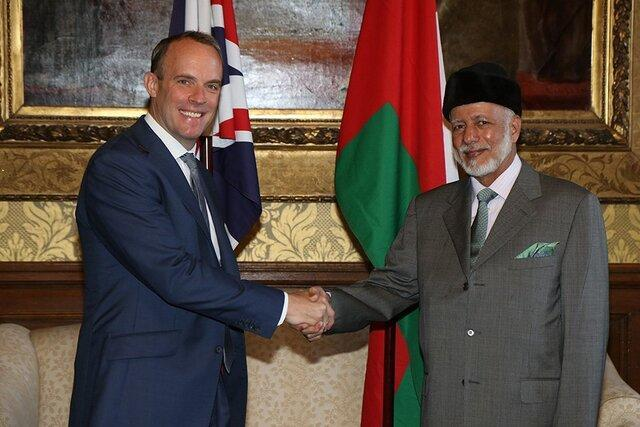 گفت وگوی وزرای خارجه انگلیس و عمان در مورد ایران