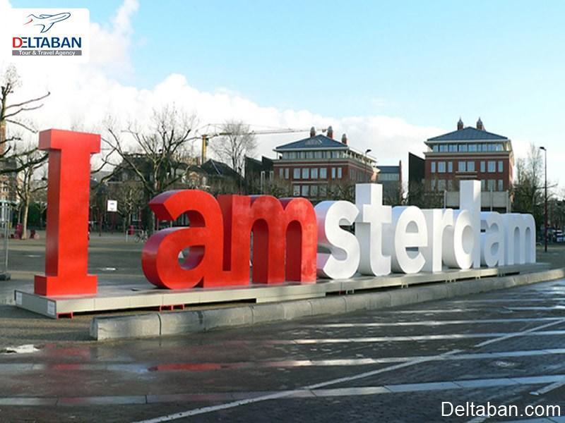 سفری به عطر و رنگ باغ های گل آمستردام