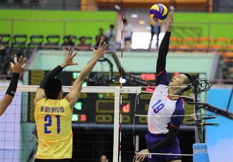 والیبال قهرمانی آسیا، چین تایپه به سختی پاکستان را شکست داد