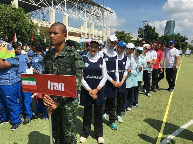 برگزاری مراسم افتتاحیه مسابقات کاپ آسیایی تایلند