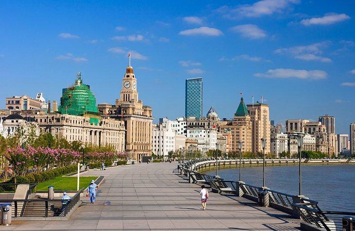 آشنایی با تفرجگاه شانگهای: منطقه Bund چین
