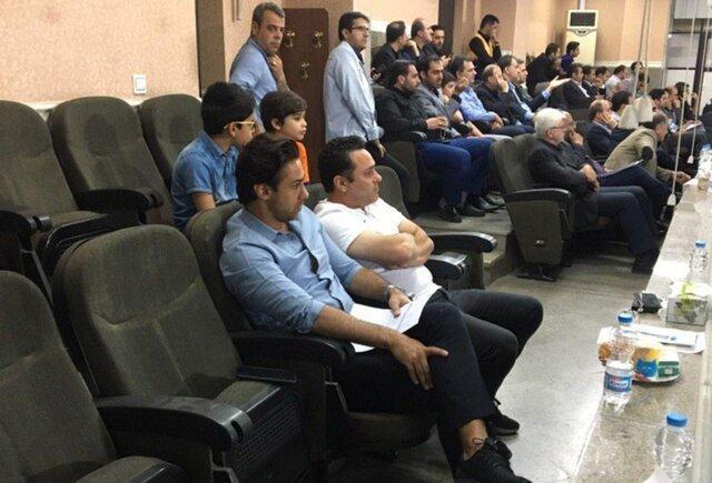 مجیدی تماشاگر ویژه دیدار سایپا و نساجی