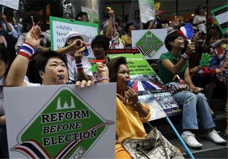 برگزاری مجدد انتخابات در 5 استان تایلند