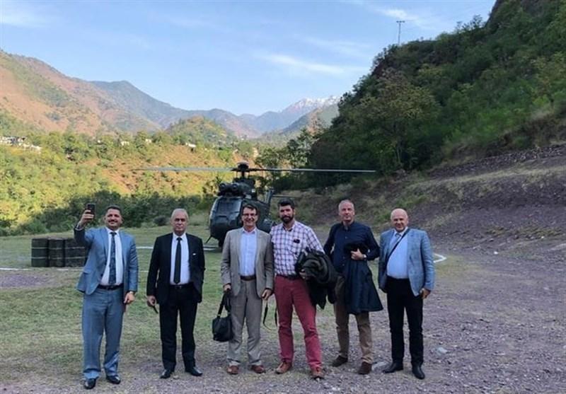 پاکستان تعدادی از سفرای کشورهای خارجی را به بازدید از مرز هند برد