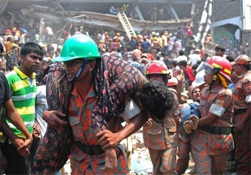 فروریختن ساختمانی در هند جان 10 نفر را گرفت