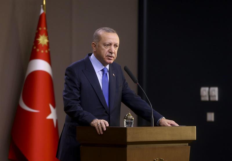 اردوغان: فرانسه حق حضور در سوریه را ندارد