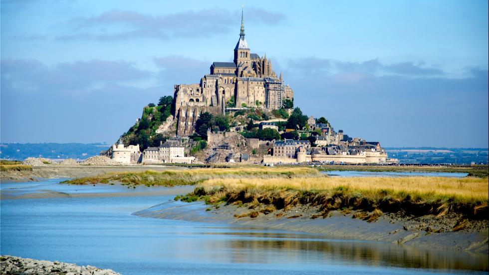 جزیره مون سن میشل در فرانسه