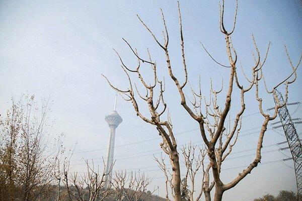 بهبود موقتی کیفیت هوای پایتخت طی امروز
