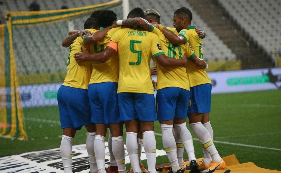 جام جهانی قطر، برزیل صدرنشین هفته اول آمریکای جنوبی، شاگردان کی روش بالاتر از یاران مسی