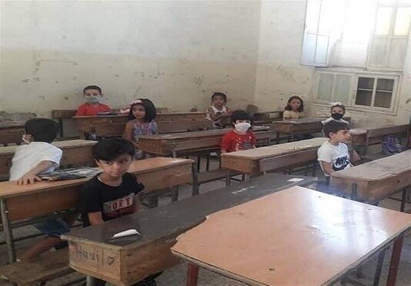 سیطره شبه نظامیان تحت حمایت آمریکا بر ده ها مدارس دولتی در شمال سوریه