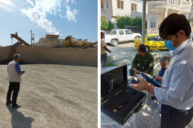 انجام 110 مورد نظارت و پایش بر واحدهای مولد بوی نامطبوع در راستا فرودگاه امام