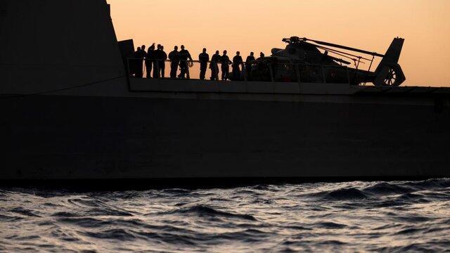 رزمایش مشترک مصر و فرانسه در دریای مدیترانه