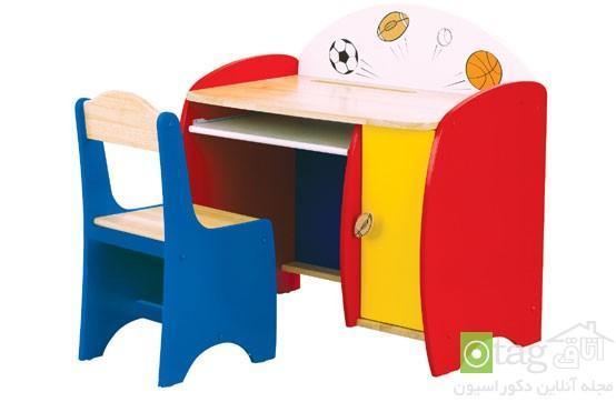 معرفی مدل های جالب میز و صندلی اتاق کودک در رنگ های شاد