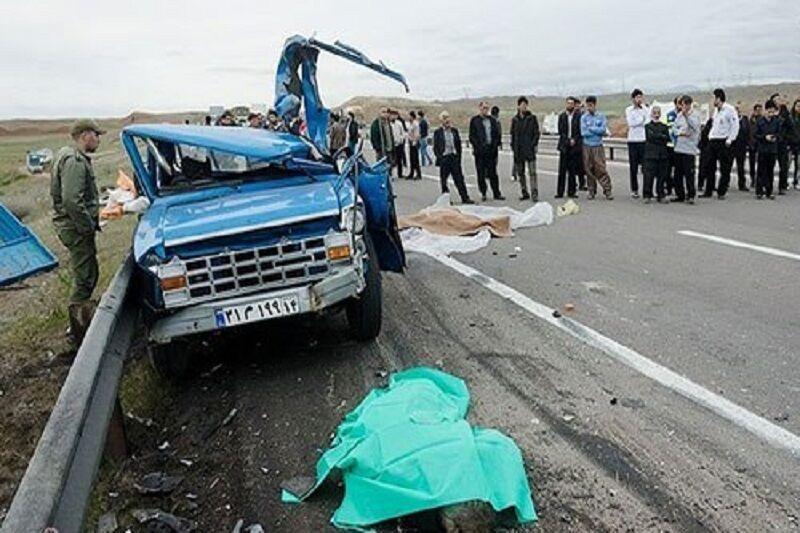 حادثه رانندگی در جاده اردبیل - رضی 2 کشته و 6 مجروح بر جای گذاشت