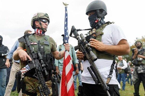 نگرانی پلیس آمریکا از خشونت های خیابانی پس از انتخابات