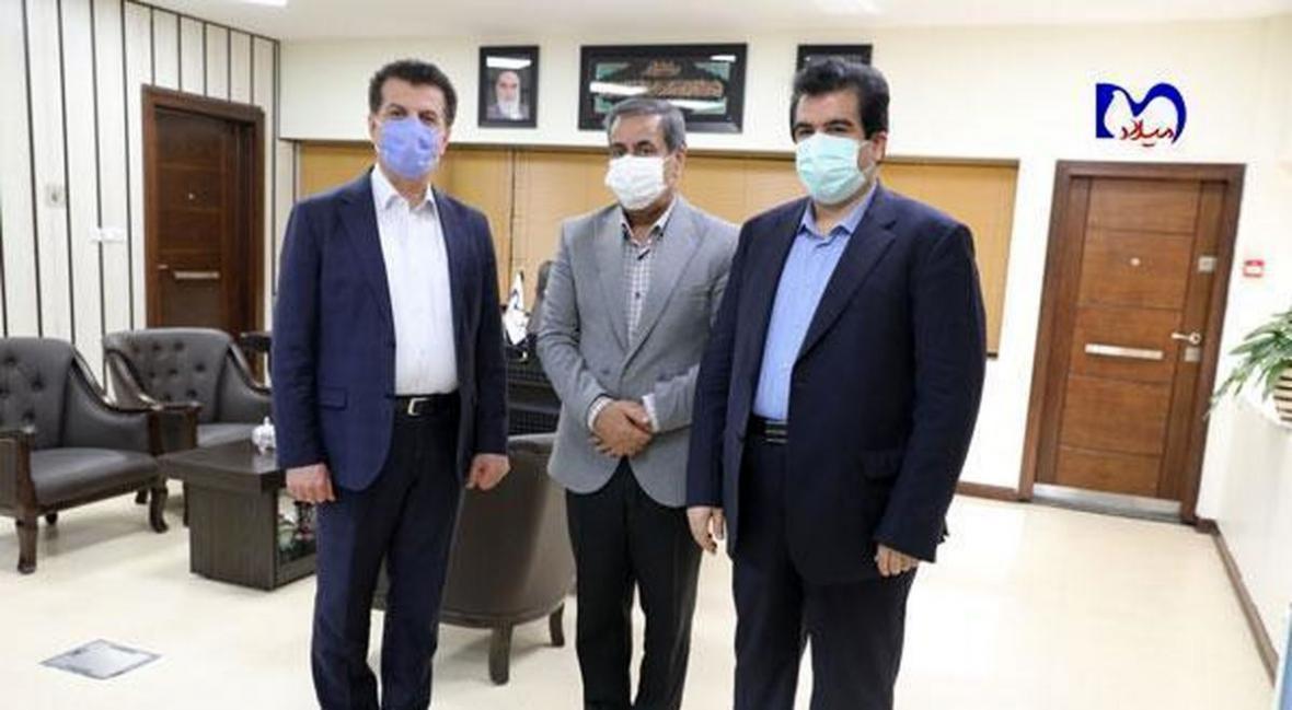 تاکید بیمارستان میلاد برای همکاری با بانک رفاه کارگران