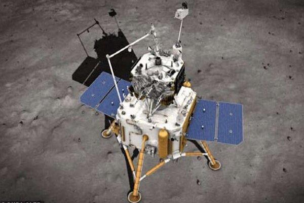 چین از ماه نمونه برداری می نماید