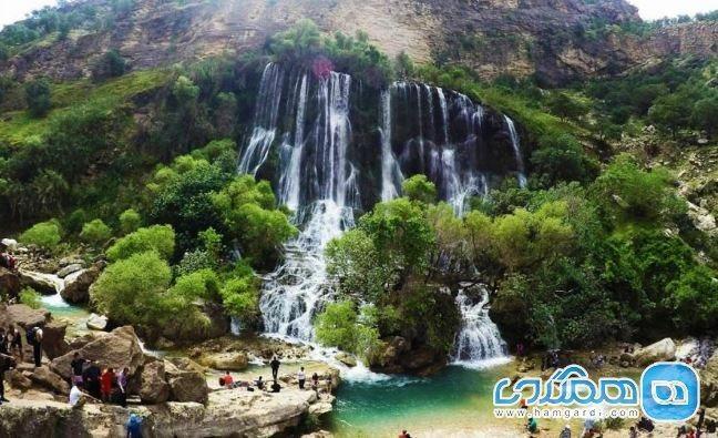 آبشار شوی دزفول؛ بزرگترین آبشار طبیعی خاورمیانه
