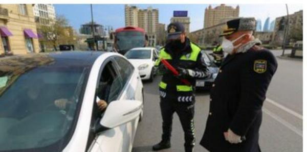خبرنگاران شروع قرنطینه سراسری در جمهوری آذربایجان