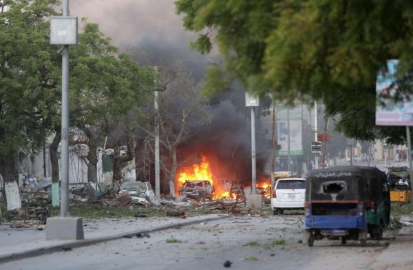 انفجار در پایتخت سومالی 13 کشته و زخمی بر جا گذاشت