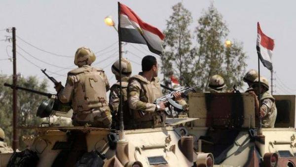 کشته شدن 2 نظامی مصری در حمله به گشتی ارتش در سینا