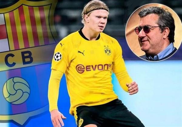 رایولا: مذاکره ای با بارسلونا بر سر هالند نداشته ام