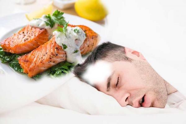 رژیم غذایی و خواب