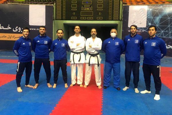 تعطیلی هشت روزه اردوی تیم ملی کاراته