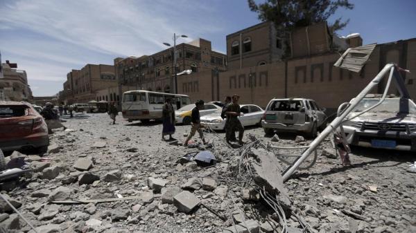 خبرنگاران 12 کشته یا مجروح نتیجه حمله توپخانه ای به جشن عروسی در یمن