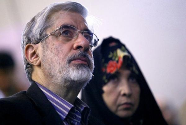 میرحسین موسوی با چه کسی تلفنی صحبت کرد؟