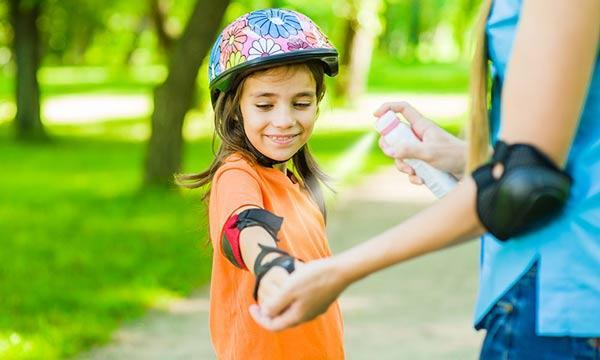 راه های درمان نیش حشرات در بچه ها