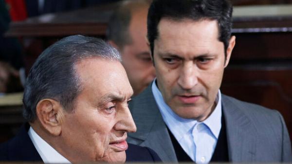 واکنش خانواده حسنی مبارک به لغو تحریم های اتحادیه اروپا