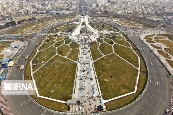 خبرنگاران مسابقه عکسی با موضوع برج آزادی