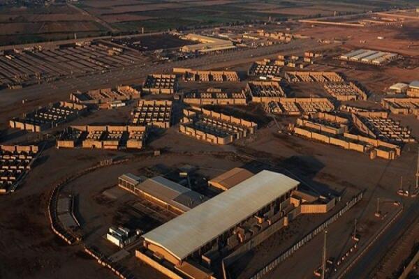 حمله راکتی به بخش آمریکایی پایگاه هوایی بلد عراق