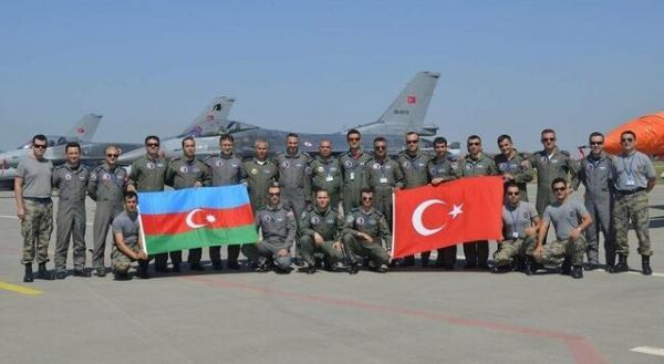 ترکیه و جمهوری آذربایجان رزمایش مشترک برگزار کردند