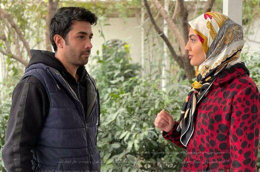 بازیگر مرد ایرانی در لباس زنانه!