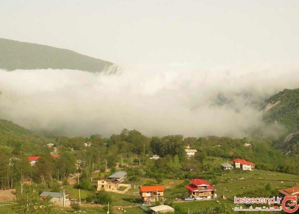 افراتخته، روستایی خوش آب و هوا در گلستان