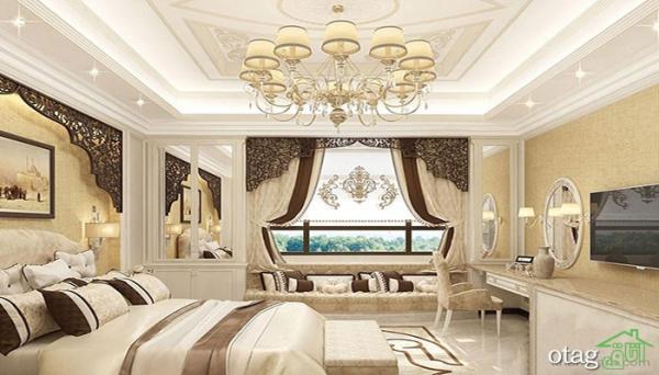 30 مدل اتاق خواب شیک لوکس ، طراحی و [دکوراسیون اتاق خواب مدرن 1400]