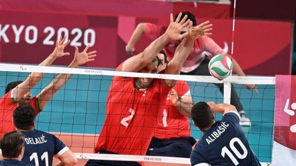 صعود والیبال نشسته ایران به فینال پارالمپیک، بوسنی هم حرفی برای گفتن نداشت