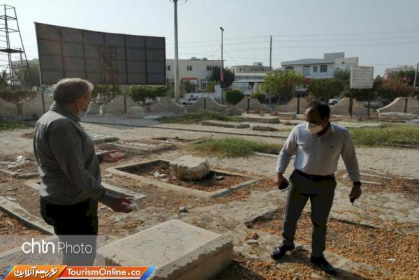 قبرستان انگلیسی ها در بوشهر سامان دهی می گردد